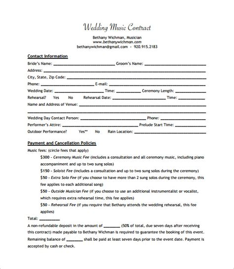 How To Write A Record Label Contract