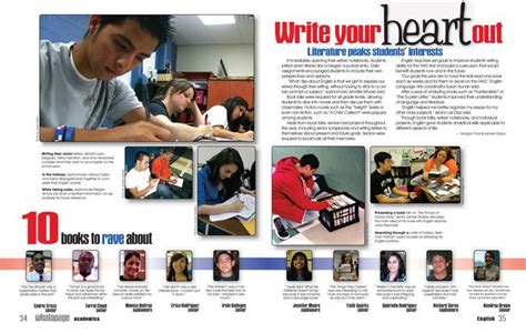 Yearbook Academic Section Ideas by Moving Your Yearbook Theme Beyond The Cover Yearbook
