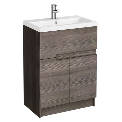 Free Standing Vanity Units Bathroom 600mm Free Standing Bathroom Furniture Vanity Unit And Basin Buy At Bathroom City