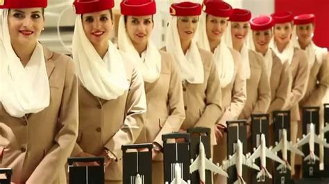 emirates cabin crew  dubai mall emirates official store  experience youtube