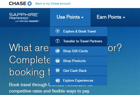 Ultimate Rewards Sweepstakes - how to transfer chase ultimate rewards points to travel partners