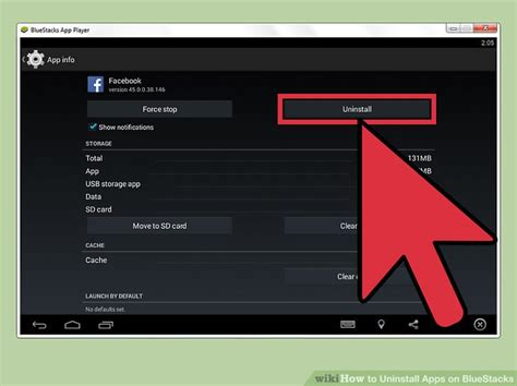 bluestacks uninstaller how to uninstall apps on bluestacks 12 steps with pictures