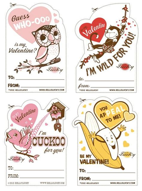printable school valentines cards the world s catalog of ideas