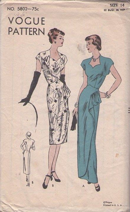 momspatterns vintage sewing patterns vogue  vintage