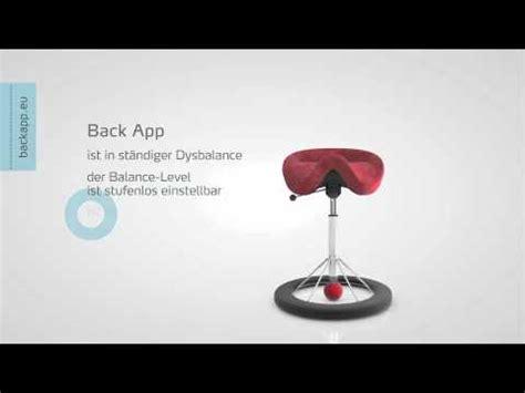 stuhl gegen rückenschmerzen backapp der stuhl gegen r 252 ckenschmerzen