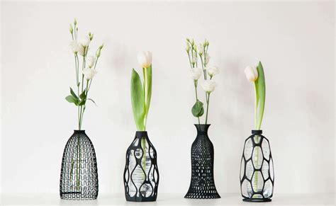 vase design 6 adorable 3d printed vase designs all3dp