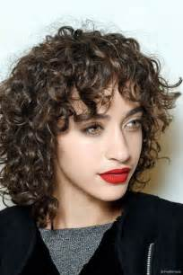 curly hairdos for 45 year 25 best ideas about curly bangs on pinterest curled
