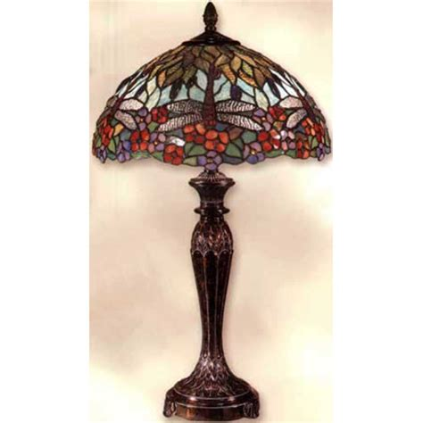 dale tiffany dragonfly table l dale tiffany tt100588 tiffany dragonfly table l