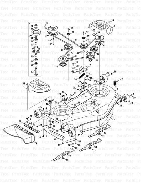 cub cadet rzt 50 parts diagram cub cadet rzt s50 17wf2bdp010 17wf2bdp056 cub cadet