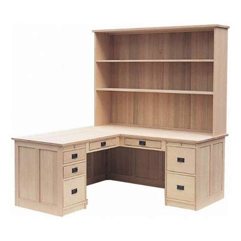 solid wood l shaped desk solid wood l shaped desk with hutch furniture gt office
