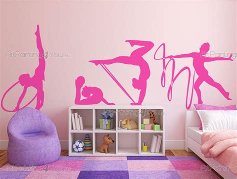vinilos gimnasia ritmica vinilos decorativos gimnasia r 237 tmica artpainting4you eu