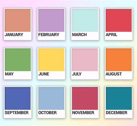 color of the month did you your birth month color says everything about
