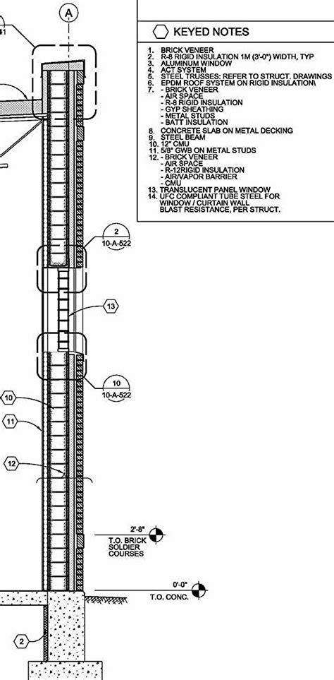 concrete wall section reinforced masonry polycreteusa