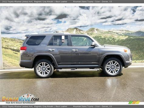 2011 Toyota 4runner Limited 2011 Toyota 4runner Limited 4x4 Magnetic Gray Metallic