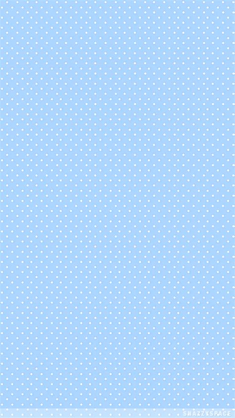 pastel blue dots iphone wallpaper