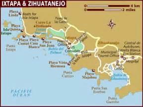 Ixtapa Mexico Map by Map Of Ixtapa Amp Zihuatanejo