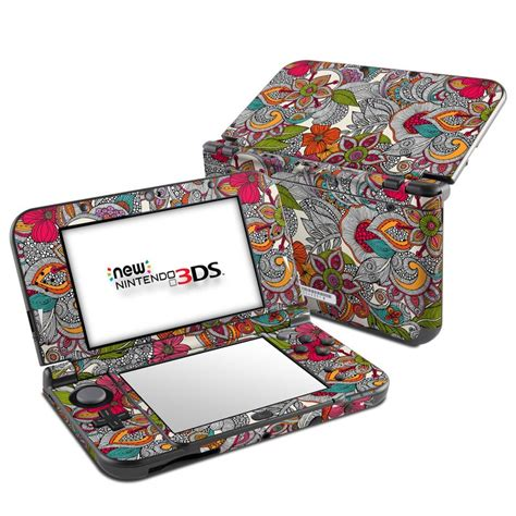 doodle xl doodles color nintendo 3ds xl 2015 skin istyles