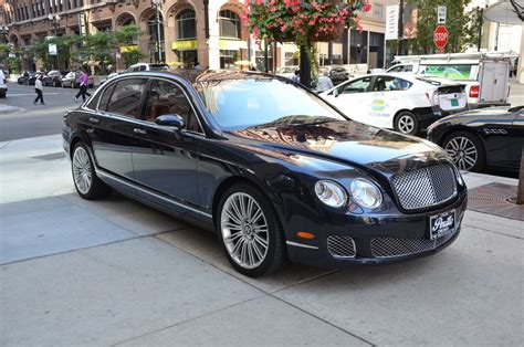 2009 bentley flying 2009 bentley continental flying spur speed stock b729a