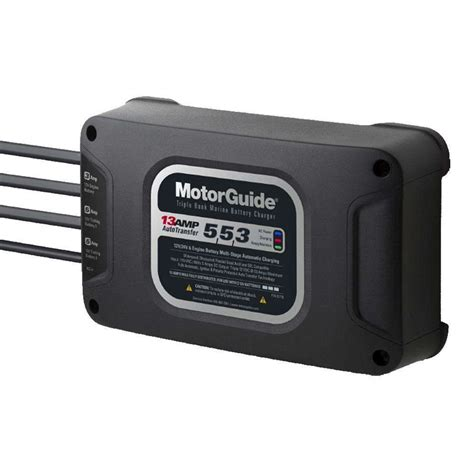 motorguide battery charger motorguide 313 bank 13a battery charger