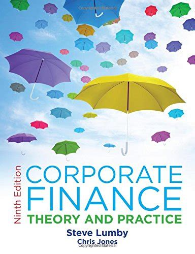 corporate finance theory and practice books biography of author lumby booking appearances speaking