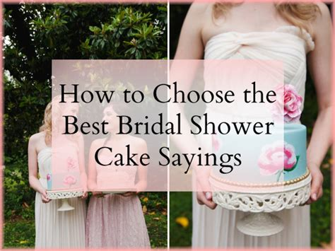 Sayings To Put On Bridal Shower Cakes by Bridal Shower Wishes Quotes Quotesgram