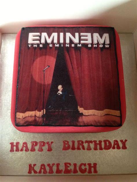 eminem birthday my eminem birthday cake cakes i want pinterest
