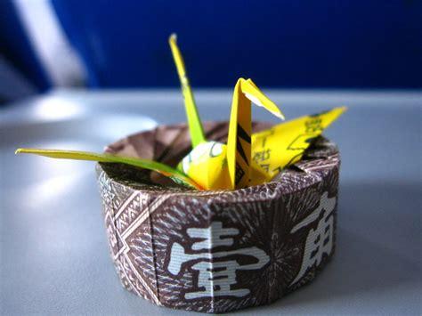Gum Wrapper Origami Crane - gum wrapper crane quot nest quot by 50an6xy06r6n on deviantart