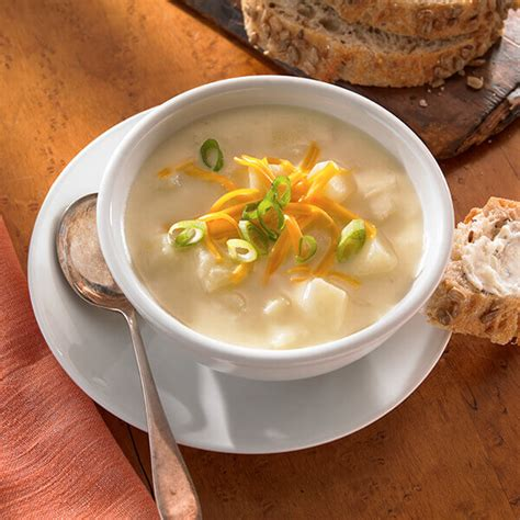 creamy potato soup recipe land olakes