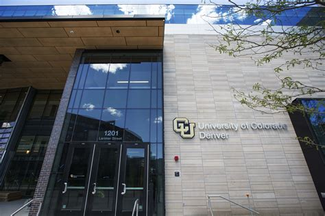 Cu Denver Health Administration Mba by Of Colorado Denver Business Mba Ranking