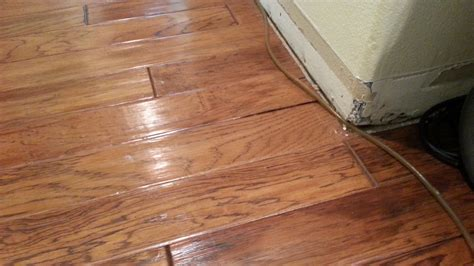 Hardwood Floor Water Damage Engineered Hardwood Flooring Water Damage Xactfloors