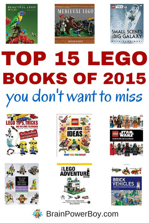 the book 2015 top 15 lego books of 2015
