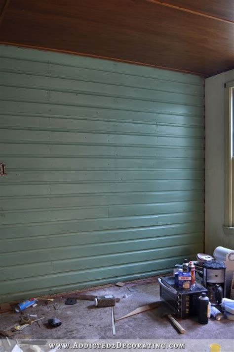 Original Shiplap Walls My Solution For My Problematic Breakfast Room Walls