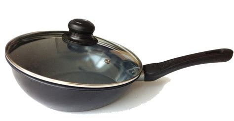 10 inch ceramic skillet with lid khome ceramic non stick carbon steel 10 inch flip fry pan