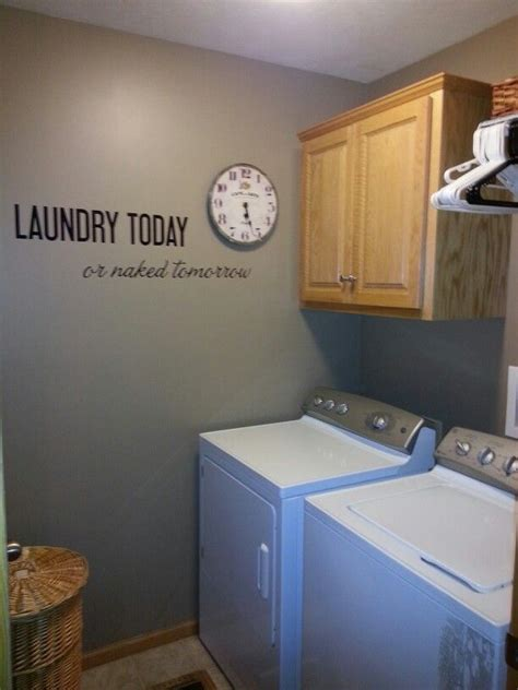 laundry makeover behr paint quot earth quot warms everything right up home decorating