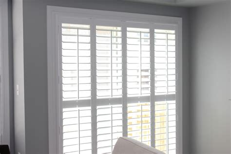 Shutters For Patio Doors Patio Door Pc Shutters In Canada