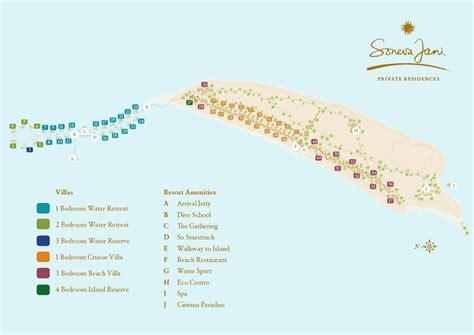 Studio Plan by Master Plan Soneva Jani Residences Soneva Maldives
