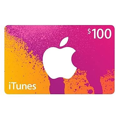 100 Itunes Gift Card - 100 itunes gift card staples