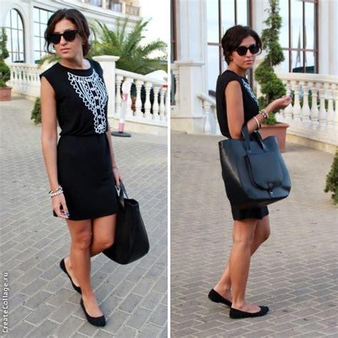 Ca Dress Brukat Inna inna a be free dress bershka flats zara bag total black lookbook