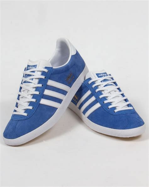 Adidas Blue adidas gazelle og trainers royal blue white originals