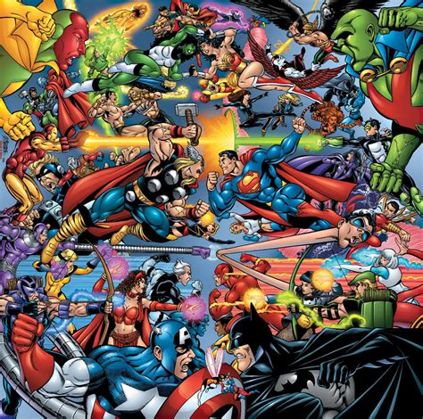 comic vs marvel vs dc battles comic vine