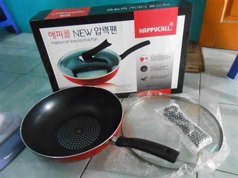 Vicenza Happy Call Harga panci wok pan pan happy call alat masak serbaguna