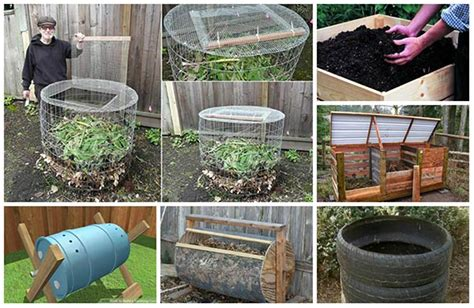 backyard composting 18 ingenious diy compost bin ideas home and gardening ideas