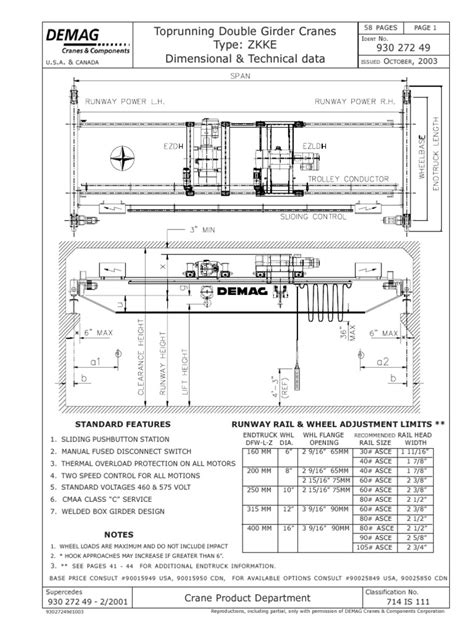 Demag Crane Wiring Diagram For Controller Demag Hoist 10