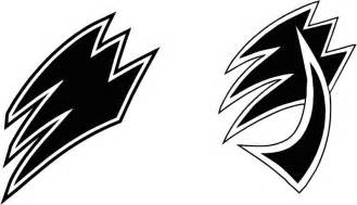 Power Rangers Jungle Fury Symbol Sketch Coloring Page sketch template