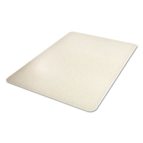 Clear Chair Mats by Environmat Recycled Anytime Use Chair Mat For Med Pile