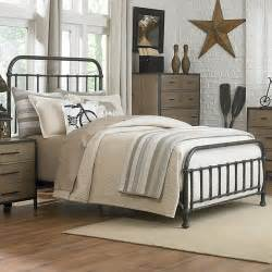 iron bed bedroom vintage iron beds fall home decor