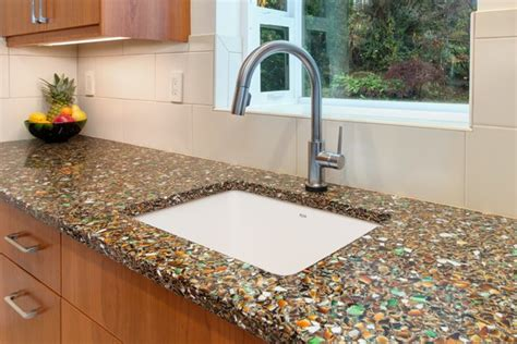 glass kitchen countertops known kitchen countertop types revealed builder