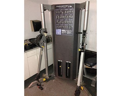 Paramount Dual Stack Cable Crossover   GymStore.com
