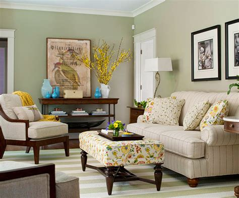 living room with green walls modern furniture 2013 traditional living room decorating ideas from bhg