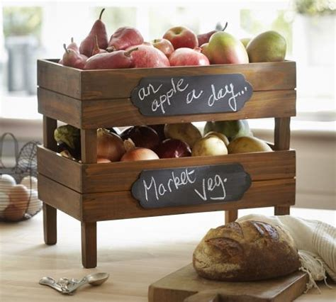 Stackable Fruit And Vegetable Crates Diy Pottery Barn Stackable Fruit Crates Traditional Fruit Bowls And